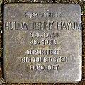 Stolpersteine Dortmund Heckelbeckstraße 1 Hulda Jenny Hayum.jpg