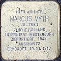 Stolpersteine Kalkar Grabenstraße 72; Marcus Vyth.jpg