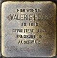 Stolpersteine Würzburg, Valerie Hess (Domstraße 26).jpg