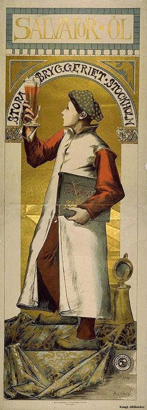 Caleb Althin - Image: Stora Bryggeriet affisch