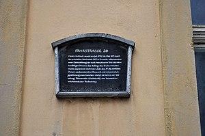Stralsund, Fährstraße 26, Gedenktafel Sanierung (2012-03-11), by Klugschnacker in Wikipedia.jpg