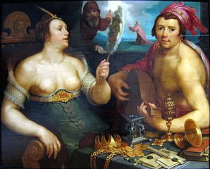 Allegory of repentance.