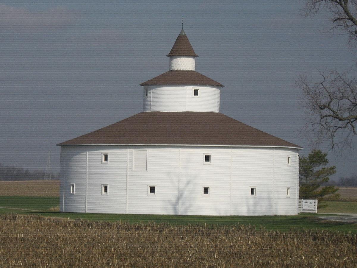 Strauther Pleak Round Barn Wikipedia