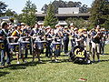 Straw Hat Band at Memorial Glade during Cal Day 2009 2.JPG