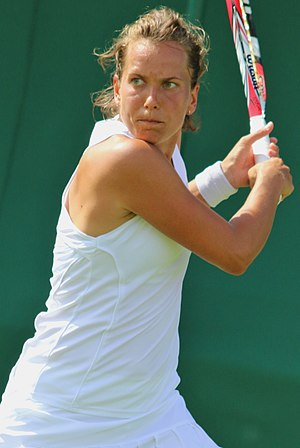 Barbora Strýcová - Strýcová at the 2017 Wimbledon Championships