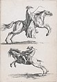 "Study of Young Horsemen, pl. XV from ""Recueil de caricatures"" MET DP876398.jpg"