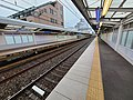Sugita Station platform20200728.jpg