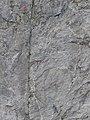 Sulla parete di granito, lungo una magnifica, diritta fessura.jpg