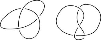 Connected sum -  Consider disjoint planar projections of each knot.