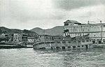 Sunken ferry boat at Nagasaki, Japan, in September 1945.jpg