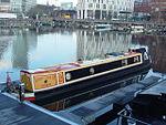 Sunny Side Up narrowboat, Salthouse Dock, Liverpool.JPG