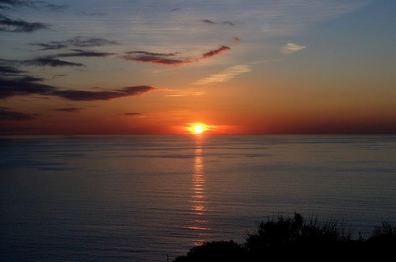 У побережья Сардинии. Свободное изображение Википедии. Автор фотоизображения Michal Osmenda