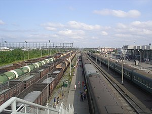 Surgut - Railway station