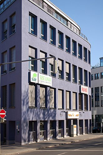 SUSE Linux - SUSE/Novell company building in Nürnberg