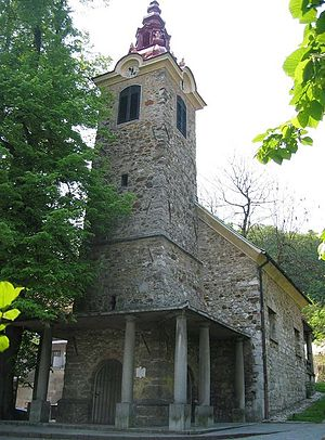"St. Bartholomew's Church (Ljubljana) - ""Old Church"""