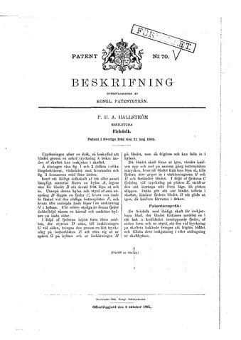 file swedish patent 70 wikimedia commons. Black Bedroom Furniture Sets. Home Design Ideas