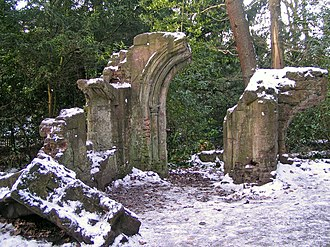 Pulhamite - Folly in Sydenham Hill Wood