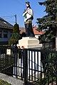 Szeged-Tápé, Nepomuki Szent János-szobor 2021 04.jpg