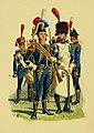 Tête de colonne du 1er léger napolitain, 1812.jpg