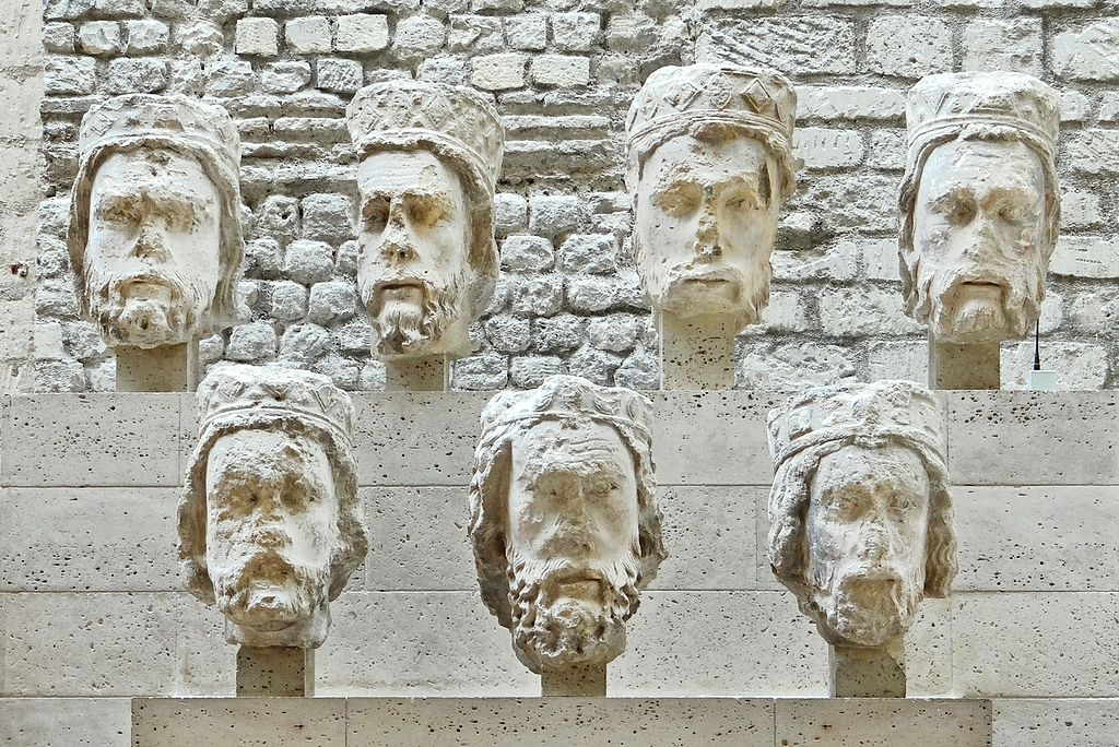 Heads of the Kings of Judah from Notre-Dame de Paris