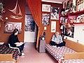 Tömő utca 35. SOTE (ma Semmelweis Egyetem) Balassa János kollégium szobája. Fortepan 74588.jpg