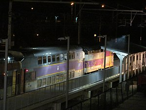 T.F. Green station at night.JPG