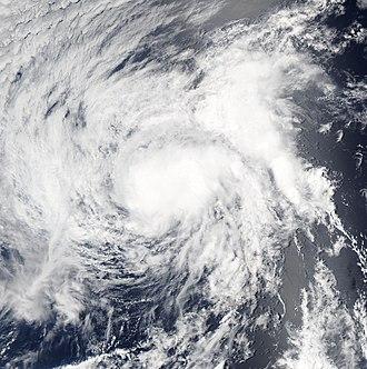 2007 Pacific hurricane season - Image: TD Four E 2007 2100Z July 9
