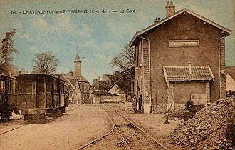 Châteauneuf-en-Thymerais - 1910 Foucault à Dreux postcard depicting Châteauneuf-en-Thymerais