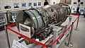 TF40-IHI-801A turbofan engine left front view at Archive room of JASDF Miho Air Base May 28, 2017 01.jpg