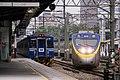 TRA EMC601 and ED851 at Hsinchu Station 20160206.jpg