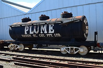 Islington Railway Workshops - A fuel tank car of which many were built from 1929