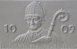 Thietmar of Merseburg German bishop and historian