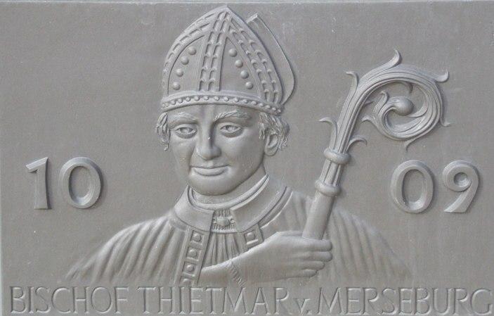 Tafel 1009 Bischof Thietmar v. Merseburg