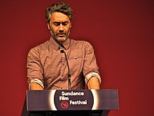 Description de l'image Taika Waititi at Sundance 2015.jpg.