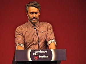 Taika Waititi - Taika Waititi speaking at 2015 Sundance Film Festival