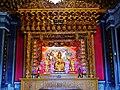 Taipeh Guandu Temple Haupthalle Innen 01.jpg