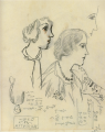 TakehisaYumeji-1932-Sketch inEuroep Profiles of Women.png