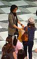 Takumi Saito Ikebukuro with fans 2011.jpg