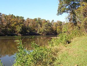 Tallapoosas - Tallapoosa River, near Horseshoe Bend, Alabama