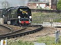 Tangmere with the Golden Arrow Statesman from Derby to Canterbury West (13994645506).jpg