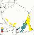 Tanzania map Karoo and coal.png