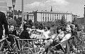 Tas vezér utca, a Sport (ma Flamenco) szálló terasza. Háttérben a József Attila (ma Budai Ciszterci Szent Imre) Gimnázium. Fortepan 60350.jpg