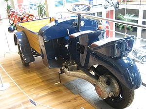 Tatra 49 - Tatra 49 rear