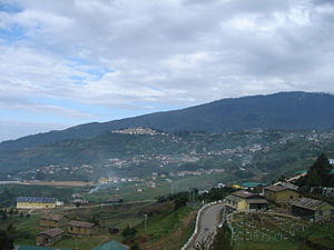 Tawang Monastery - View in the distance