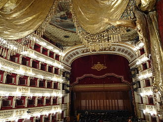 Teatro di San Carlo - View from the royal box