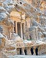 Temple with columns at Little Petra, Jordan.jpg