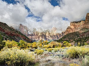 "Zion National Park - ""Temples and Towers of the Virgin"""