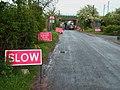 Temporary Road Closure - geograph.org.uk - 433035.jpg