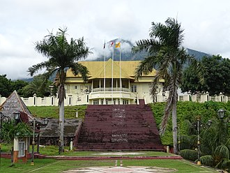 Sultanate of Ternate - The sultan's palace today