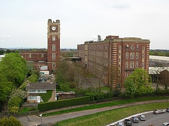 Terry's - The former Terry's chocolate factory, 2008. Taken from the 4th floor of the Ebor stand at York Racecourse